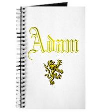 Adam. Journal