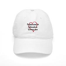 Loves me: Columbus Baseball Baseball Cap