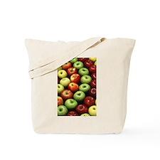 Various Types of Apples Tote Bag