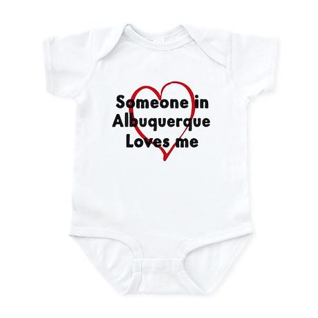Loves me: Albuquerque Infant Bodysuit