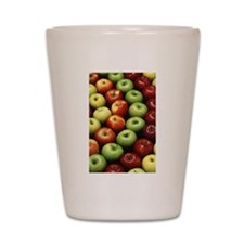 Various Types of Apples Shot Glass