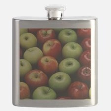 Various Types of Apples Flask