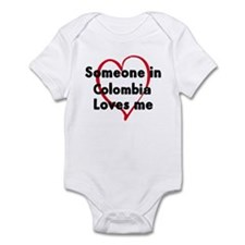 Loves me: Colombia Infant Bodysuit
