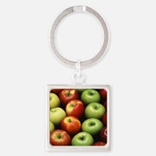 Various Types of Apples Keychains