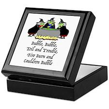 HALLOWEEN - BUBBLE BUBBLE TOIL AND TR Keepsake Box
