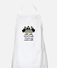 HALLOWEEN - BUBBLE BUBBLE TOIL AND TROUBLE Apron