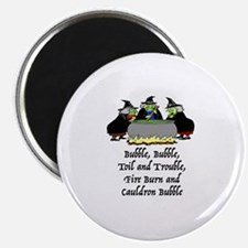 HALLOWEEN - BUBBLE BUBBLE TOIL AND TROUBLE Magnet
