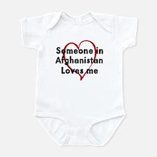 Loves me: Afghanistan Infant Bodysuit