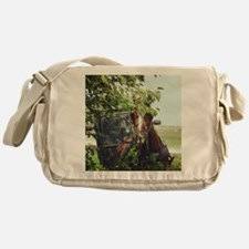 Funny Amish Messenger Bag