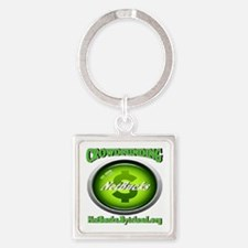 Money Tree Square Keychain