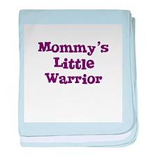 Cute Warriors baby blanket
