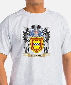 Steward Coat of Arms - Family Crest T-Shirt