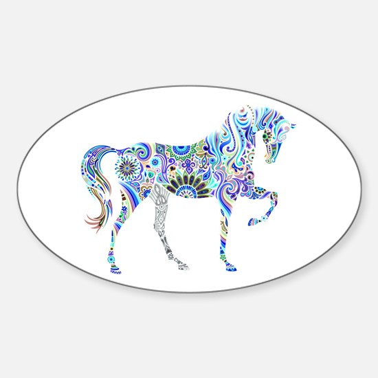 Cool Colorful Horse Decal