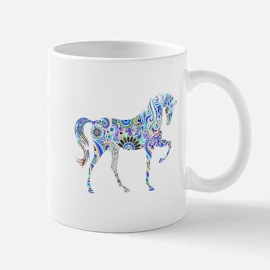 Cool Colorful Horse Mugs