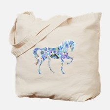 Cool Colorful Horse Tote Bag