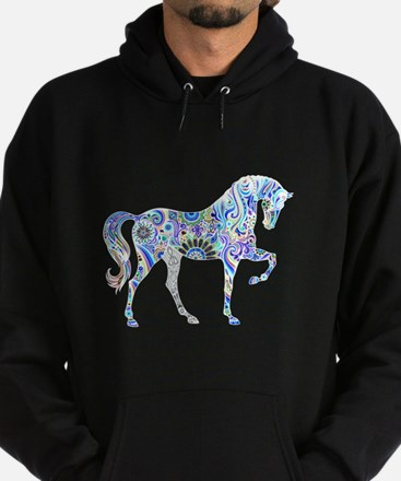 Cool Colorful Horse Hoody
