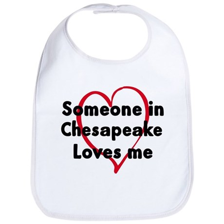 Loves me: Chesapeake Bib