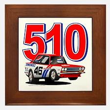 BRE Datsun 510 #46 Framed Tile