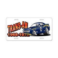 Mark Donohue Trans Am Racing Aluminum License Plat