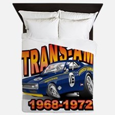 Mark Donohue Trans Am Camaro Queen Duvet