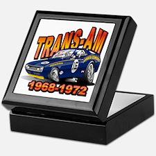 Mark Donohue Trans Am Camaro Keepsake Box