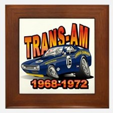 Mark Donohue Trans Am Camaro Framed Tile