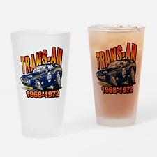 Mark Donohue Trans Am Camaro Drinking Glass