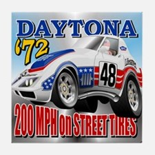 Daytona 72 Endurance Racer Tile Coaster