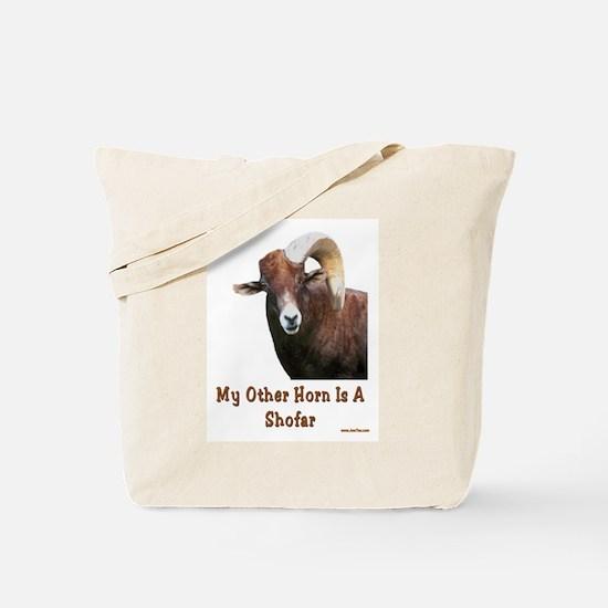 Rosh Hashanah Shofar Tote Bag
