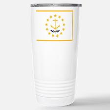 Rhode Island State Flag Travel Mug