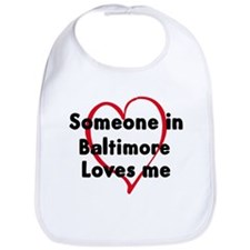 Loves me: Baltimore Bib