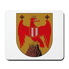 Burgenland Coat of Arms Mousepad