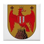 Burgenland Coat of Arms Tile Coaster
