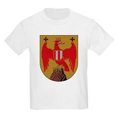 Burgenland Coat of Arms Kids T-Shirt