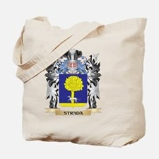 Strada Coat of Arms - Family Crest Tote Bag