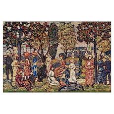 Autumn by Prendergast Poster