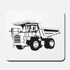 Dump Truck Mousepad