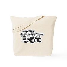 Dump Truck Tote Bag