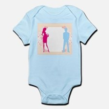 expecting dad mom Body Suit
