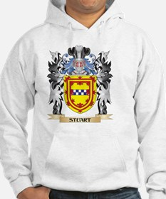 Stuart Coat of Arms - Family Cre Hoodie