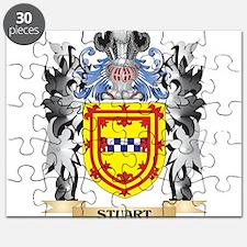 Stuart Coat of Arms - Family Crest Puzzle