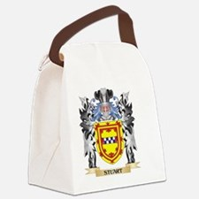 Stuart Coat of Arms - Family Cres Canvas Lunch Bag