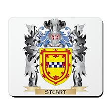 Stuart Coat of Arms - Family Crest Mousepad