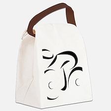 Cute Cycling Canvas Lunch Bag