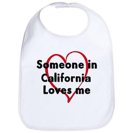 Loves me: California Bib