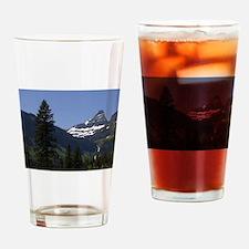 glacier national park Drinking Glass