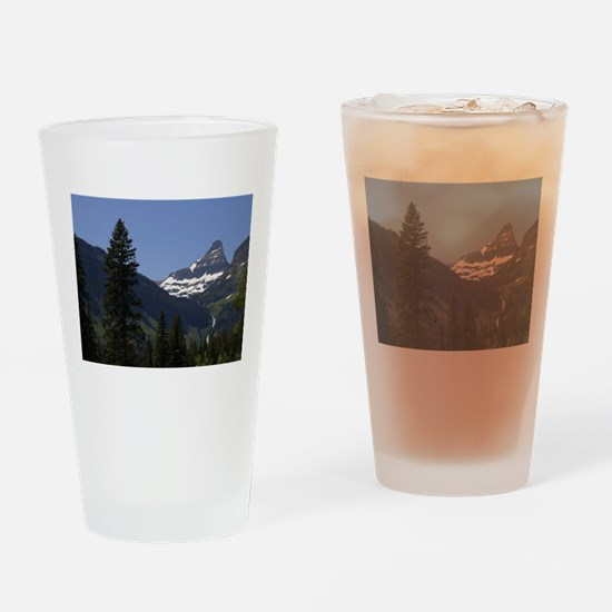 glacier national park Drinking Glass