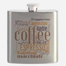 Coffee word cloud collage Flask