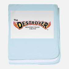 Classic Destroyer (light) baby blanket