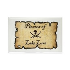 Cute Pirates Rectangle Magnet (10 pack)